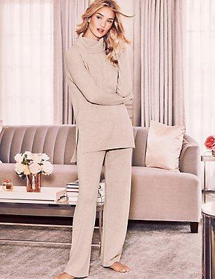 Pure Cashmere Pyjama Set, , catlanding