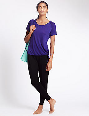 Ensemble t-shirt à motif bulles et pantalon de yoga, dotés de la technologie Cool Comfort™, , catlanding