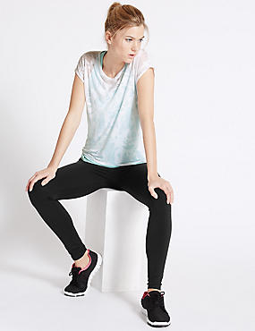 Double Layer T-Shirt & Joggers Set, , catlanding