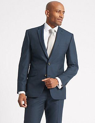 Indigo Slim Fit Suit, , catlanding