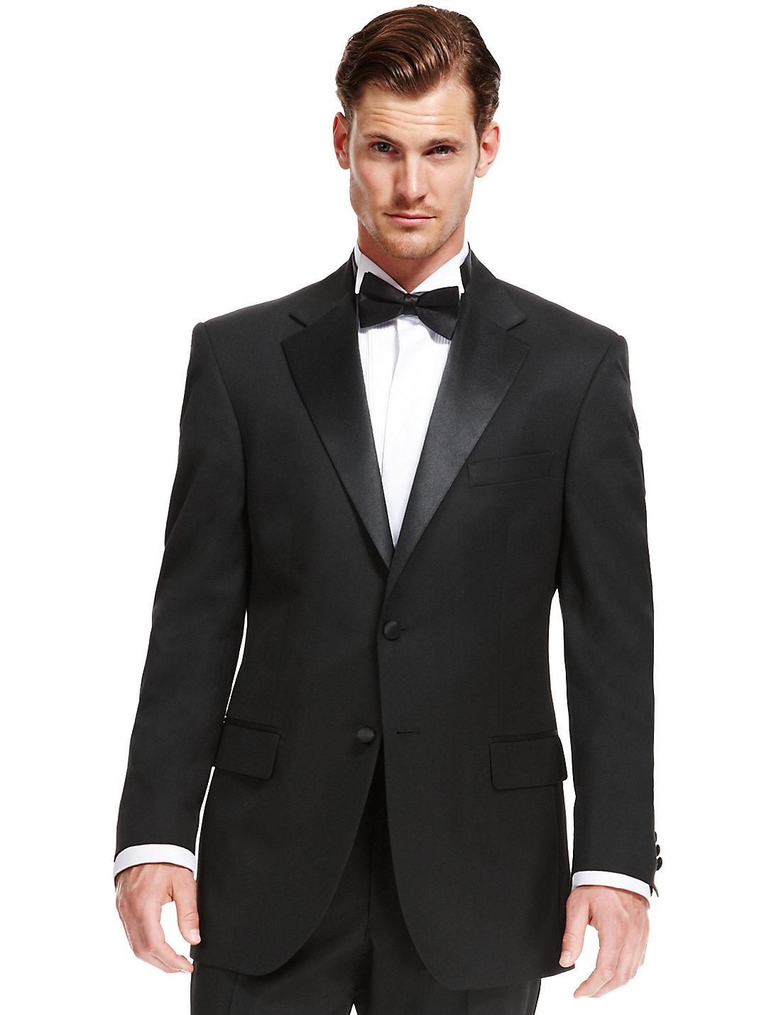 Black Regular Fit Suit | M&S