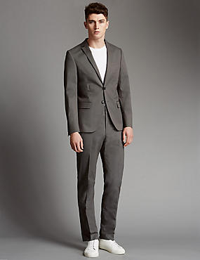 Brown Tailored Fit Suit