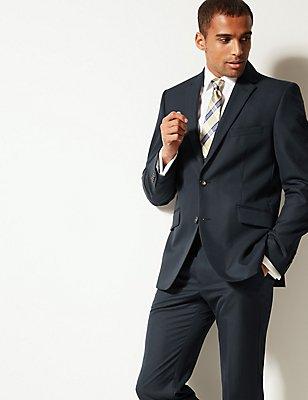 Navy Tailored Fit Suit, , catlanding