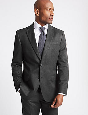 Big & Tall Grey Regular Fit Suit, , catlanding