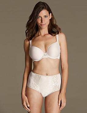 Lace Set Underwired Padded Full Cup DD-G, , catlanding