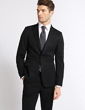 Charcoal Slim Fit Suit, , catlanding