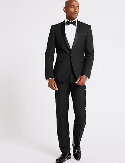 Black Slim Fit Suit | M&S