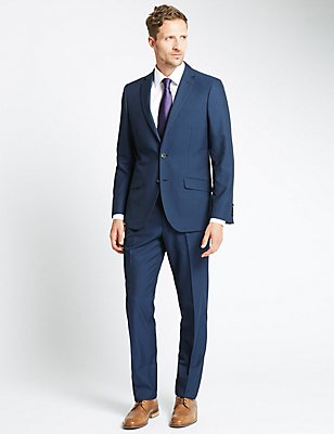 Big & Tall Indigo Tailored Fit Suit, , catlanding
