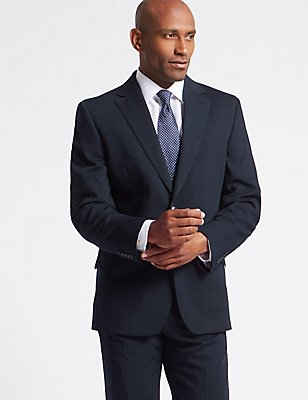 Big & Tall Navy Regular Fit Suit, , catlanding