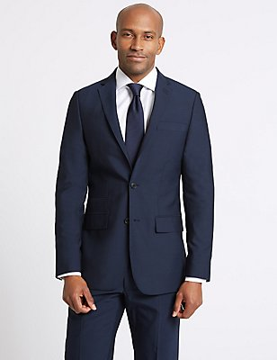 Indigo Tailored Fit Suit, , catlanding