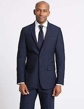 Anzug in maßgeschneiderter Passform in Indigo, , catlanding