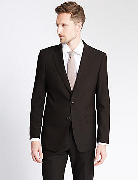 Brown Regular Fit Suit, , catlanding