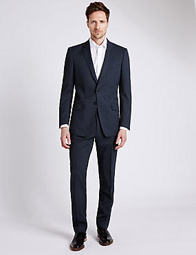 Dark Navy Tailored Fit Suit