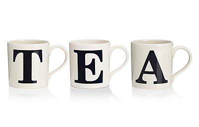 A-Z Individual Letter Mugs , , catlanding