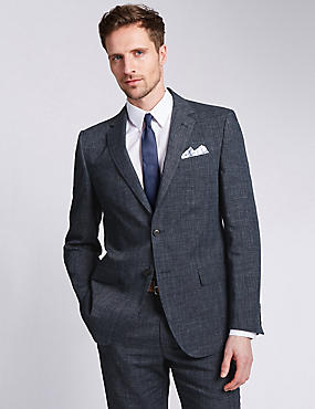 Big & Tall Regular Fit 3 Piece Suit, , catlanding