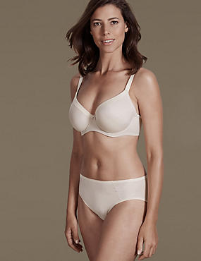 Sumptuously Soft Set with Padded Full Cup T-Shirt DD-G