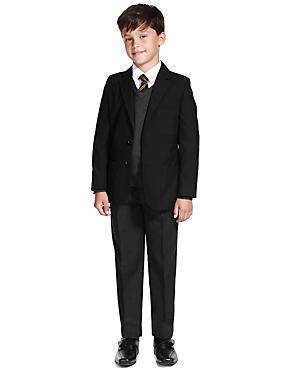 Boys' Slim Fit Schoolwear Outfit, , catlanding