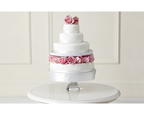 Traditional Wedding Cake - Create Your Own