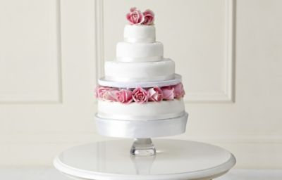 Asda Design Your Own Photo Cake : Traditional Wedding Cake - Create Your Own M&S
