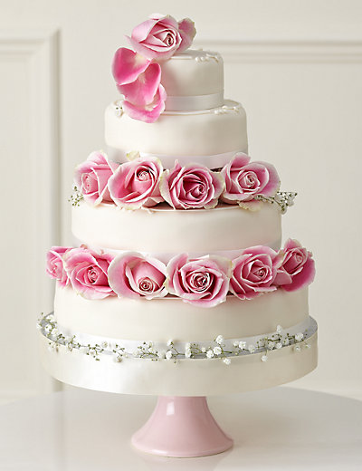 Traditional Wedding Cake Create Your Own