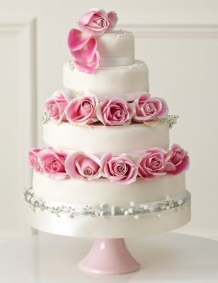 Traditional Wedding Cake   Create Your Own M&S