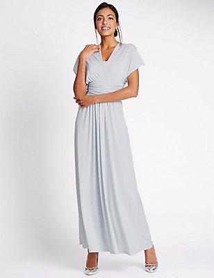 Multiway Strap Maxi Dress, , catlanding