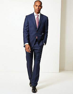 Blue Tailored Fit Suit, , catlanding