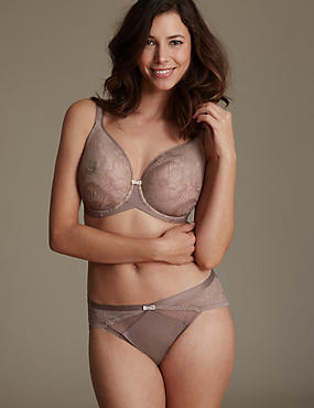 Lace Smoothing Set with Spacer Non-Padded Plunge DD-G