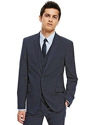 Big & Tall Superslim Suit with Waistcoat, , catlanding
