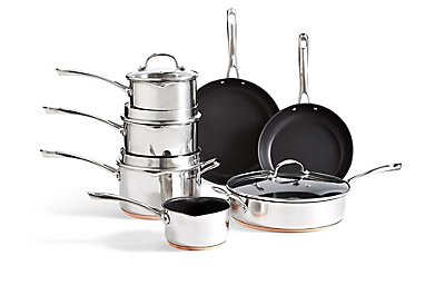 Copper Base Cooking Range , , catlanding