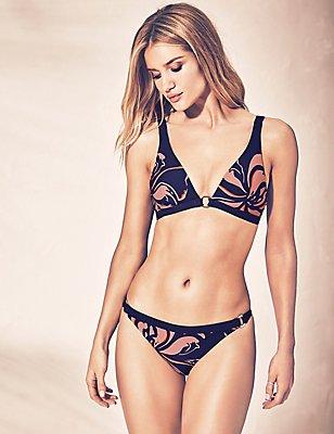 Floral Print Bikini Set, , catlanding