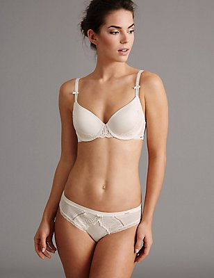 Embroidered Set with Padded Plunge A-E, , catlanding