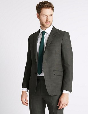 Big & Tall Grey Tailored Fit Suit, , catlanding