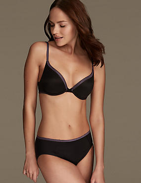 Smoothlines™ Sumptuously Soft Set with Plunge T-Shirt A-DD
