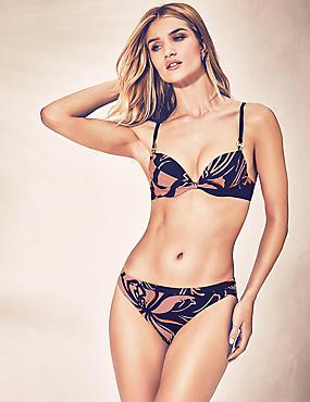 Ensemble bikini à imprimé fleuri, bonnets AàF, , catlanding