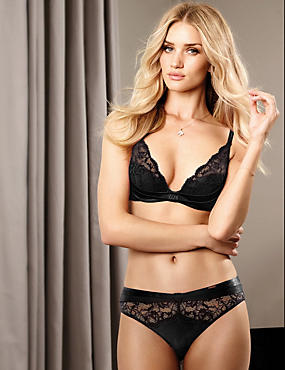Beau Lace Set with Padded Balcony A-DD