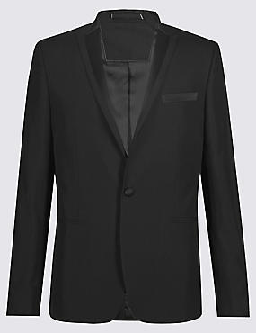 Black Super Slim Fit Dinner Suit