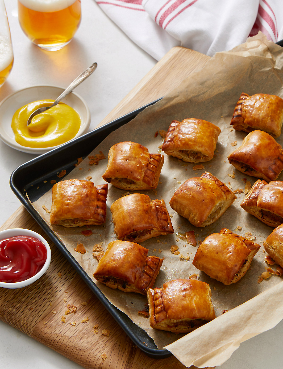 Marks and Spencer | Handcrafted Sausage Rolls