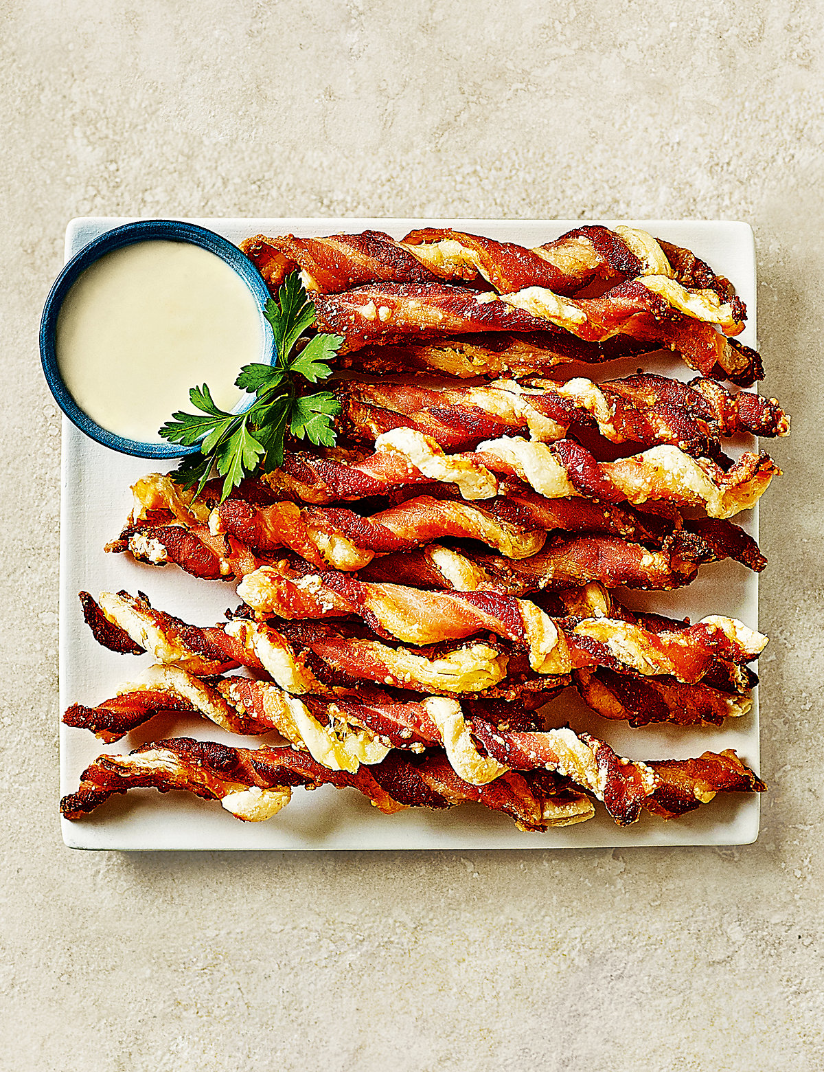 Bacon & Cheese Twists - 20 Pieces