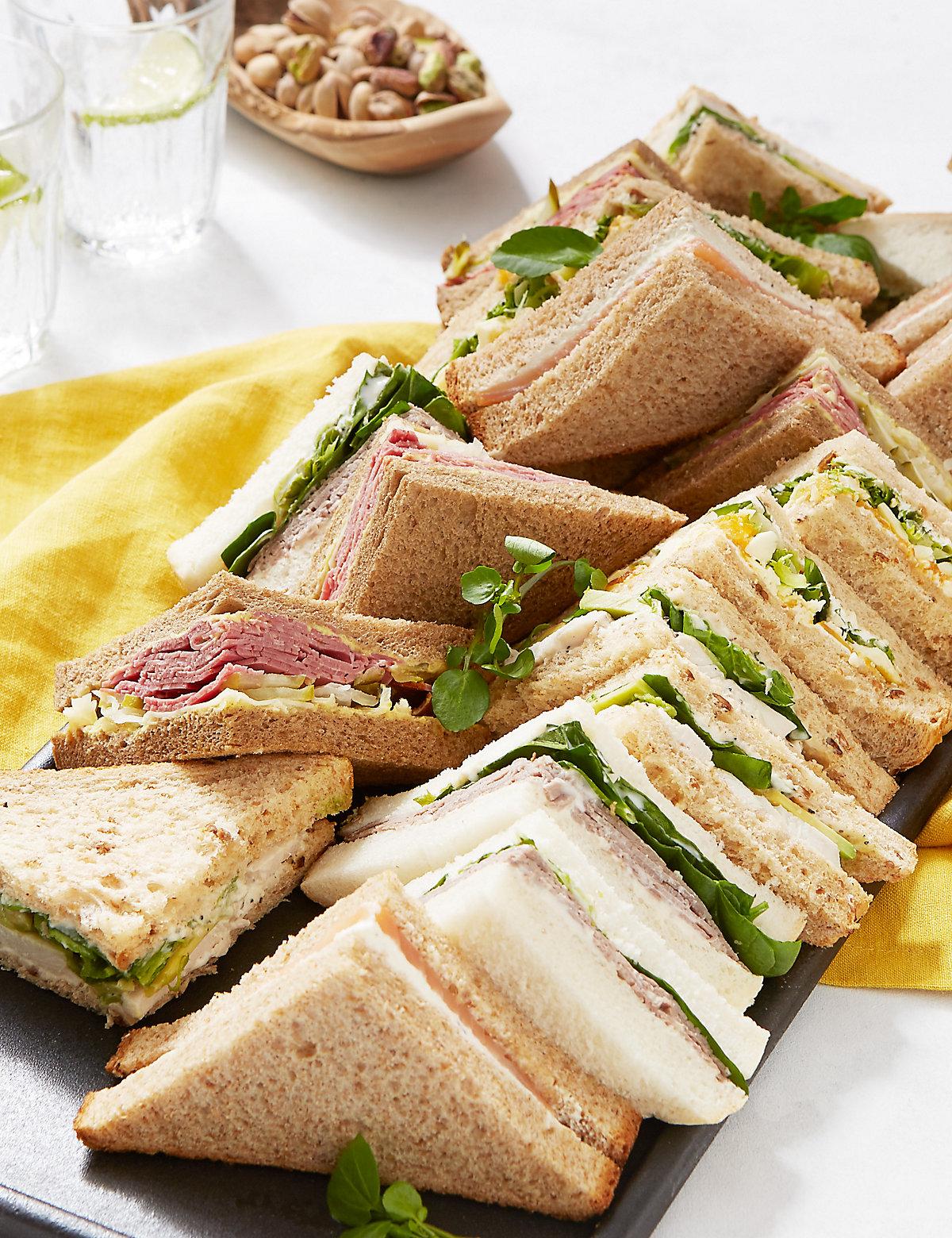 Luxury Sandwich Platter (20 Sandwich Quarters)