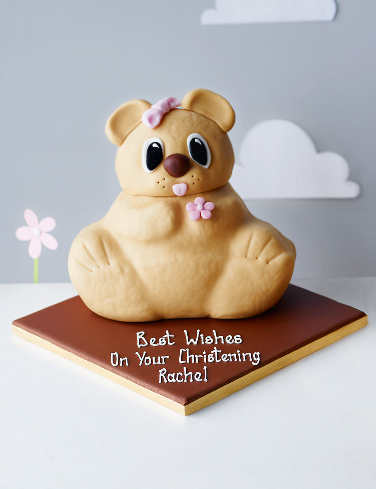 Izzy Bear Cake (Available to order until 4th February 2017)