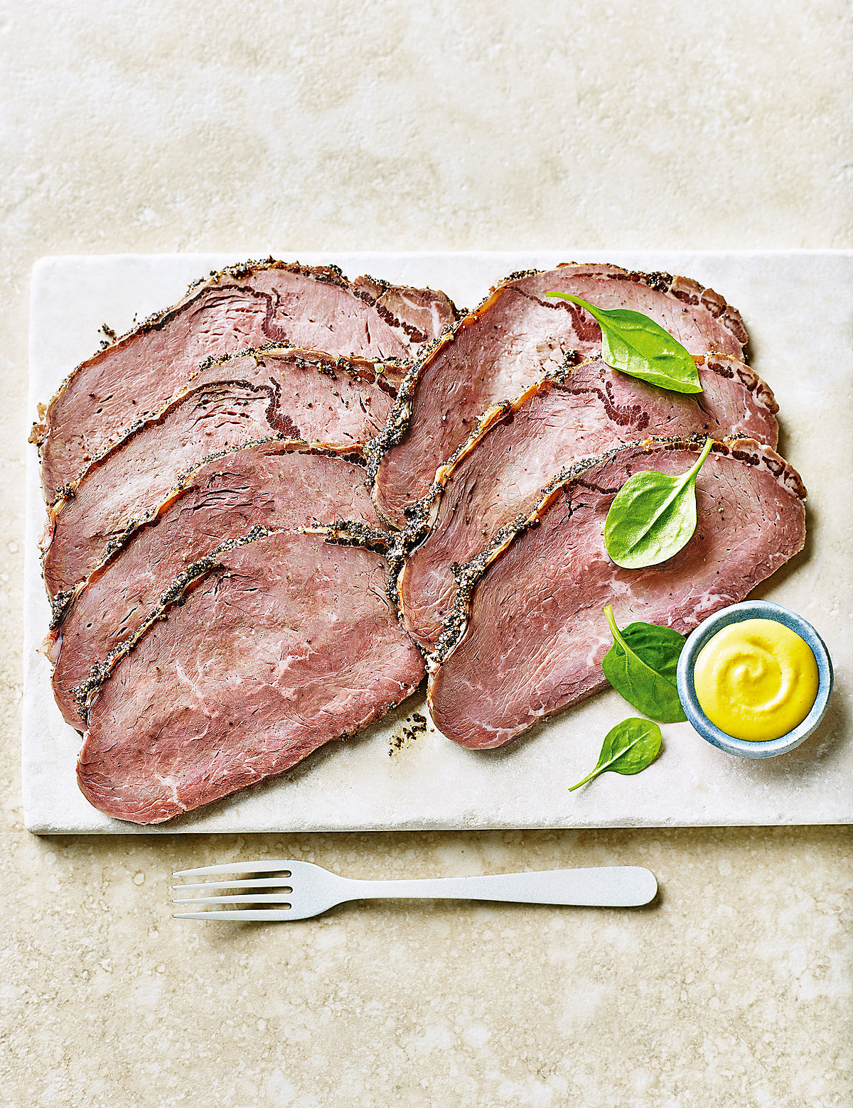 From The Deli Sirloin of Rare Roast Beef with a Light Black Peppercorn Crust - 6-8 Pieces