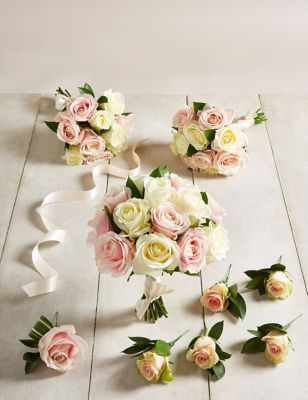 The Collection Mixed Rose - Large Wedding Party Package