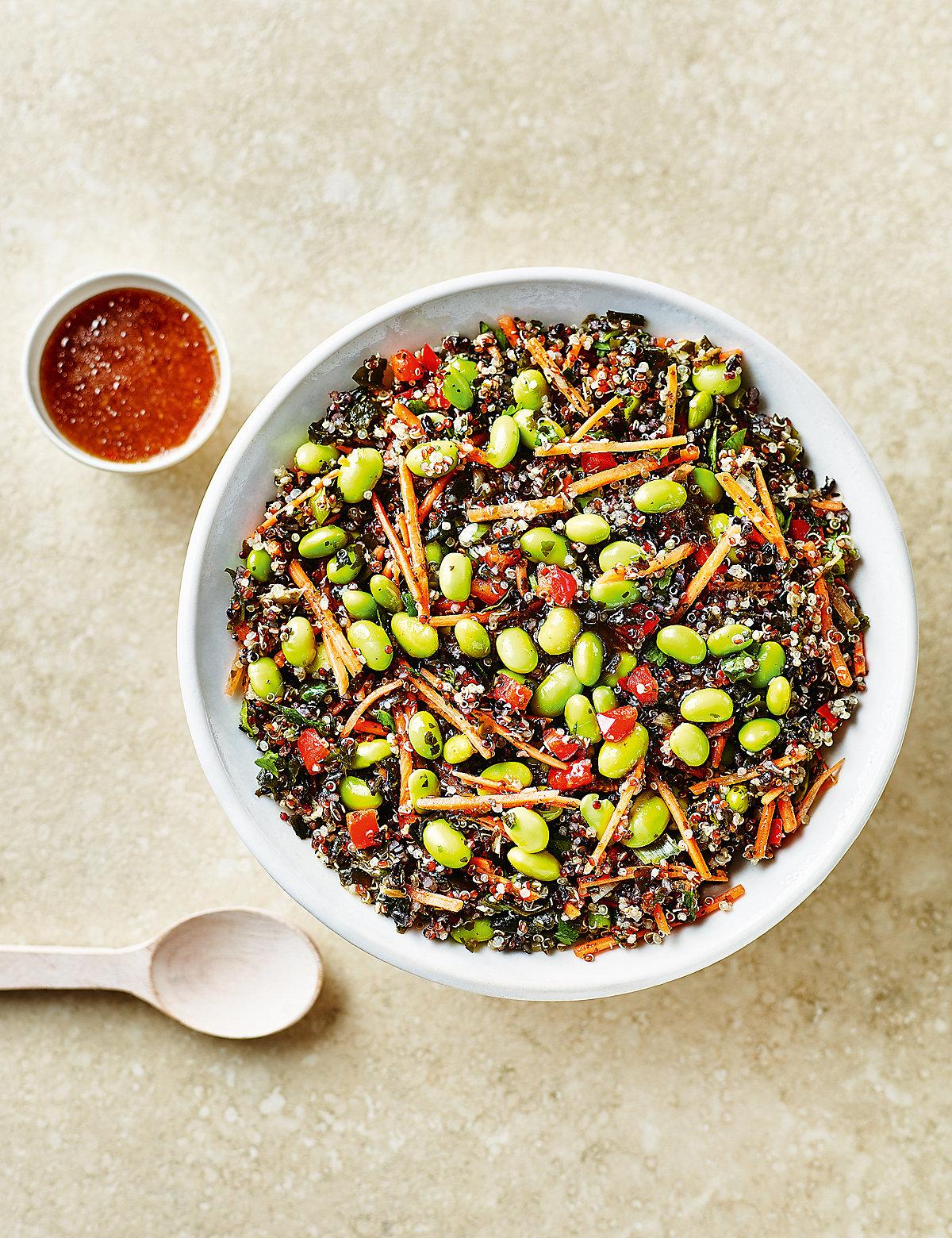 Quinoa & Edamame Salad