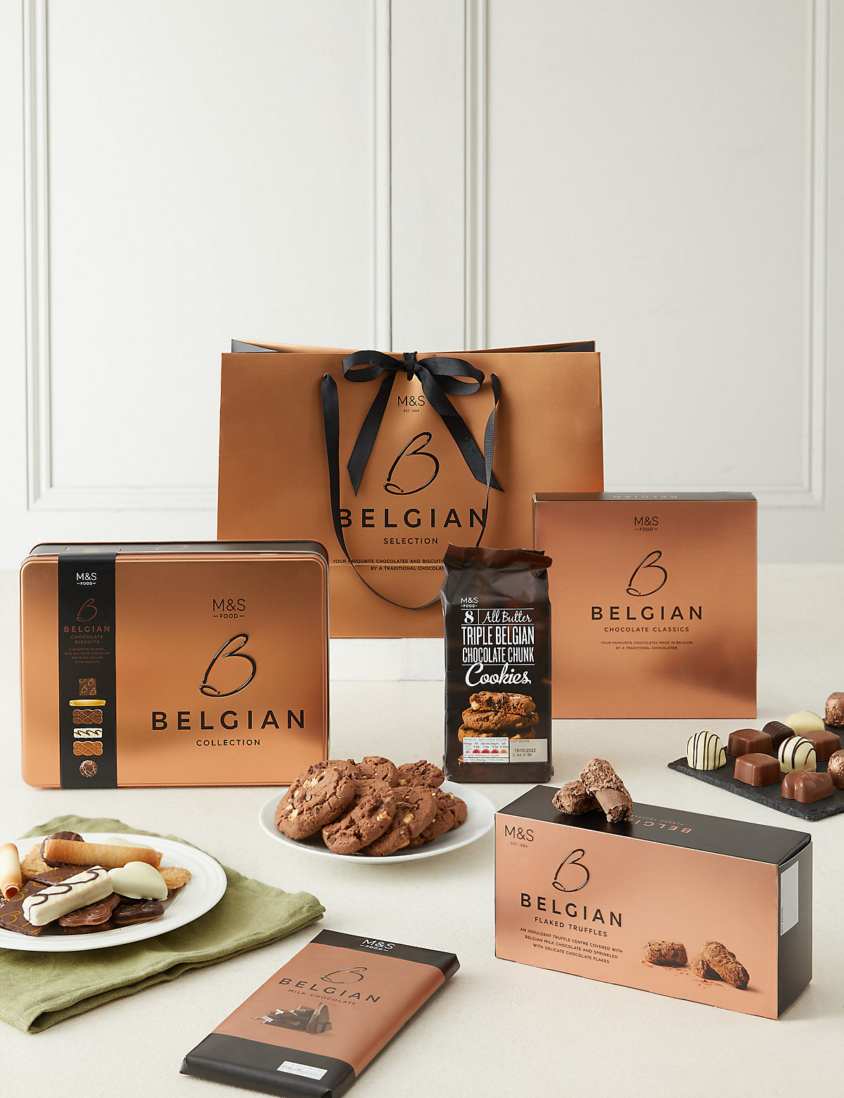Belgian Chocolate Gift Bag