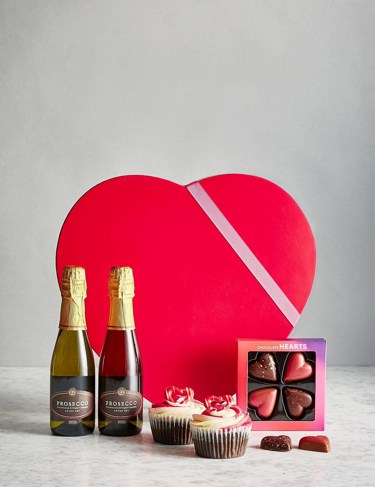Valentine's Gift Box with Prosecco (Pre Order)
