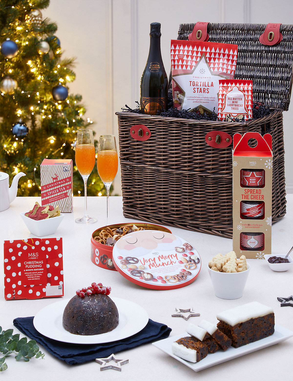 All throughout the year Marks and Spencer marks the seasons and holidays with choice Hampers & Gifts for every occasion. From Mother's Day to Easter and Father's Day to Christmas, sneak a peek at the finest gifts online for the finest savings around.