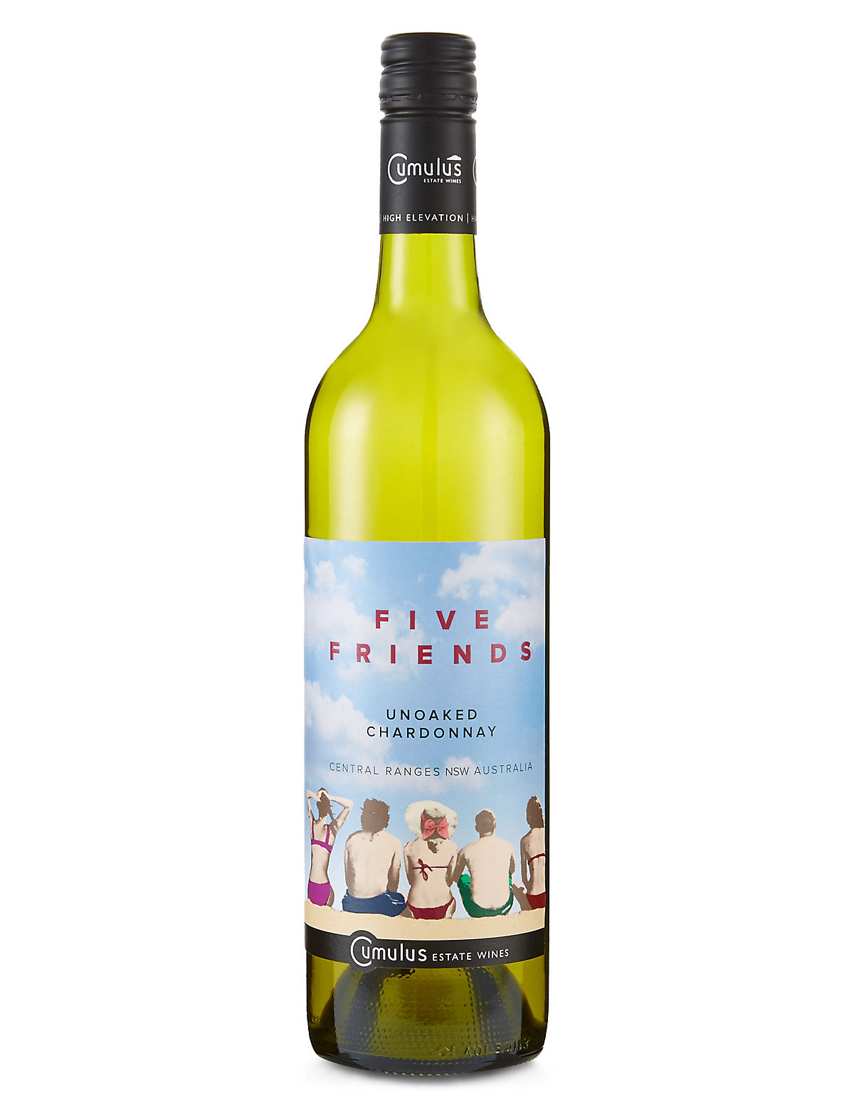 Five Friends Unoaked Chardonnay - Case of 6