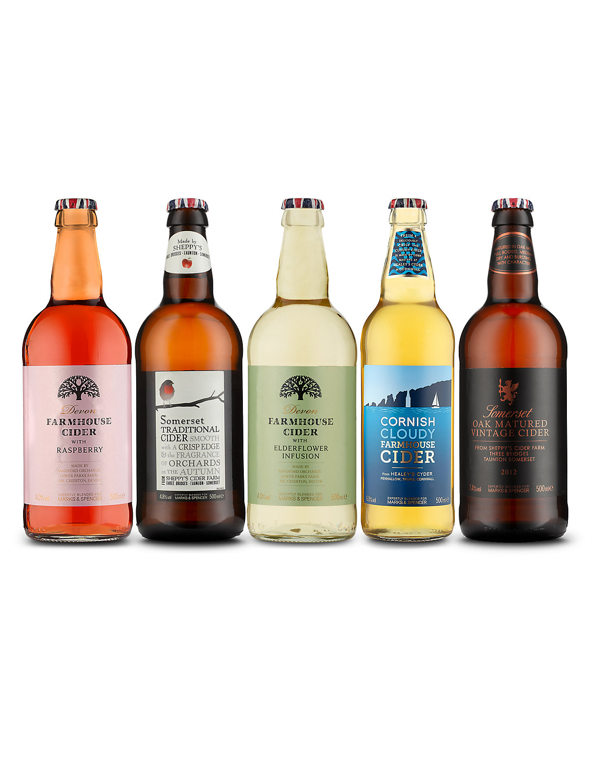 British Cider Selection  Case of 20