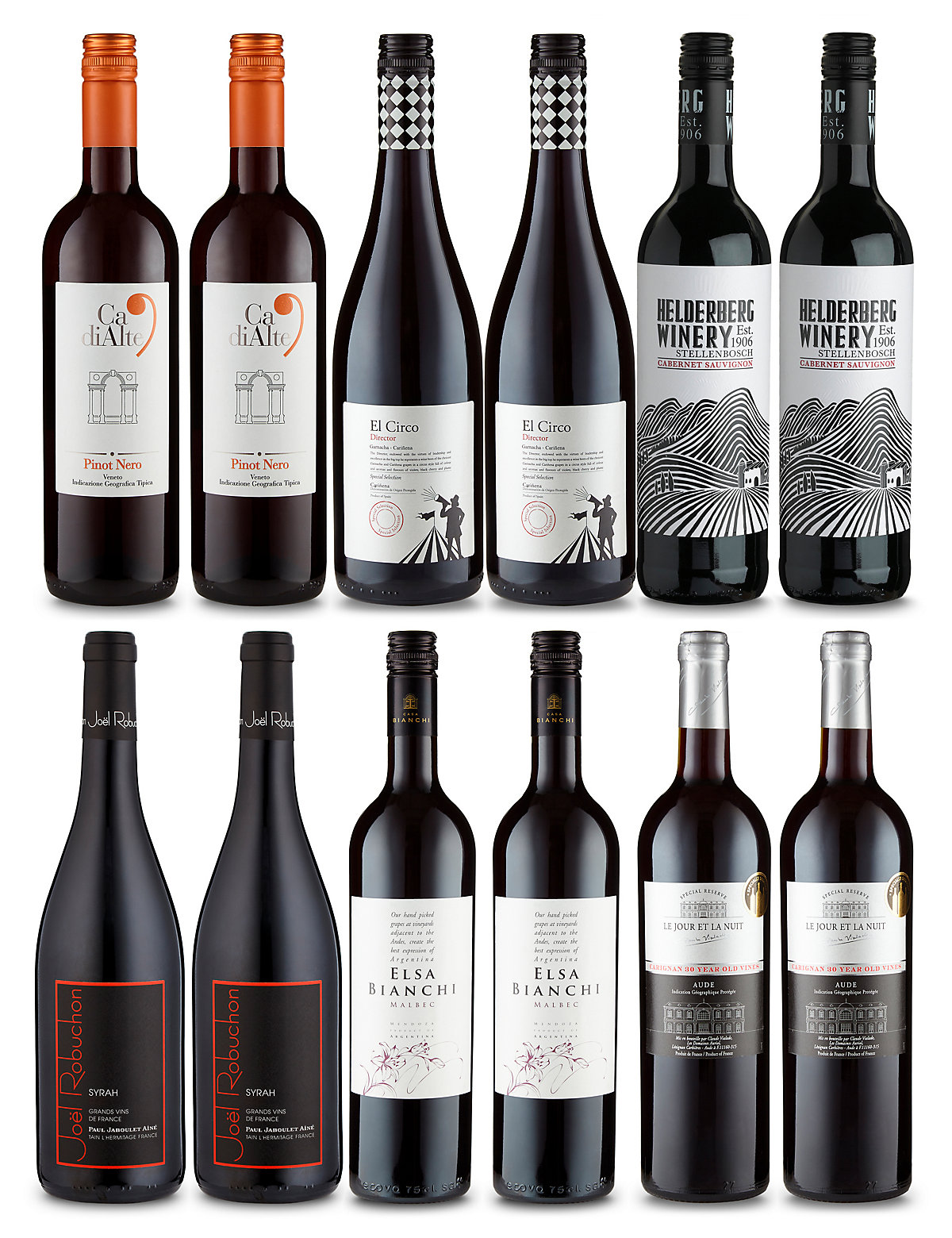 Reserva Reds Selection  Case of 12